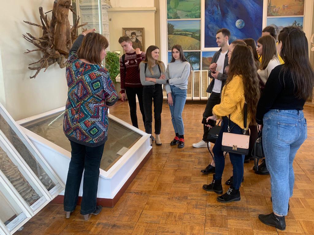 Студенты ВШТБ посетили Центральный музей почвоведения имени В. В. Докучаева