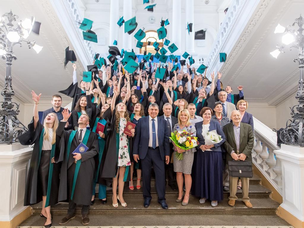 Торжественная церемония вручения дипломов 2019